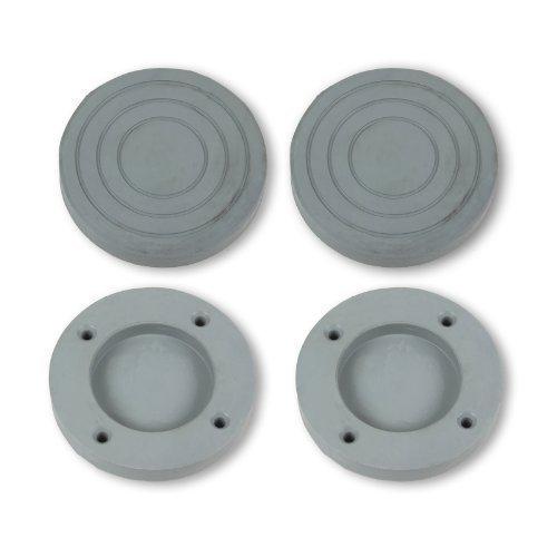 LG - Piedini antivibrazione e antiscivolo in gomma per lavatrice