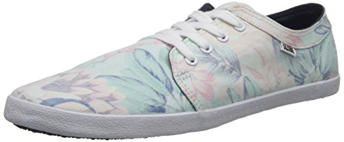 Globe Herren Belly Skate Schuh Rot, Grau (Faded Hawaiian), 45 EU