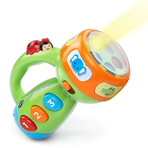 VTech Spin and Learn Color Flashlight Amazon Exclusive, Lime Green