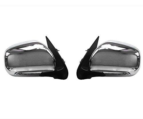 仙戸山 fairyland ドアミラー 1型2型3型4型 200系ハイエース 電格 メッキドアミラー TOYOTA HIACE200系 1-4型 S-GL/標準/ワイド車 車種専用設定 純正交換タイプ 電動格納式 左右セット 2点セット
