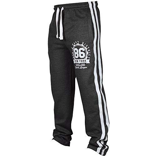 Overdose Pantalon Baggy Hombre Pantalón Deportivo De Jogging Deportivo para Hombre Pantalones De Chándal Sueltos Casuales Pantalón con Cordón Oferta