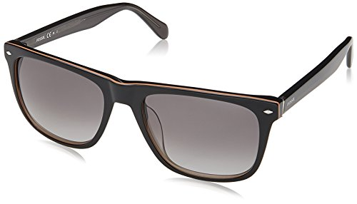 Fossil Herren FOS 2062/S Sonnenbrille, Black, 54