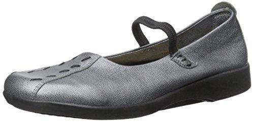 Arcopedico Women's Shawna Pewter Leather Shoe 6.5 M US