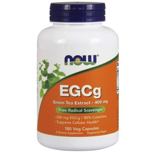 Now Foods Egcg Extracto De Te Verde, 400Mg 180 Unidades 160 g
