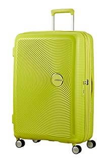 AMERICAN TOURISTER Soundbox - Spinner S Espandibile Bagaglio a Mano, Spinner S (55 cm - 41 L), Verde (Tropical Lime) (B06ZZ2JPPR) | Amazon price tracker / tracking, Amazon price history charts, Amazon price watches, Amazon price drop alerts