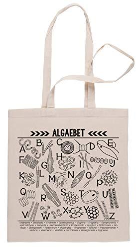Rundi Algaebet Einkaufstasche Shopping Bag Beige
