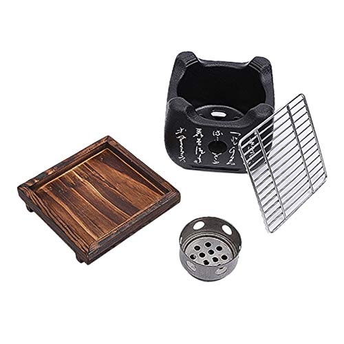 PPLAS Indoor Charcoal BBQ-Grill Japanese Food Carbon Stove Stove Household Barbecue Tools (Size : Small)