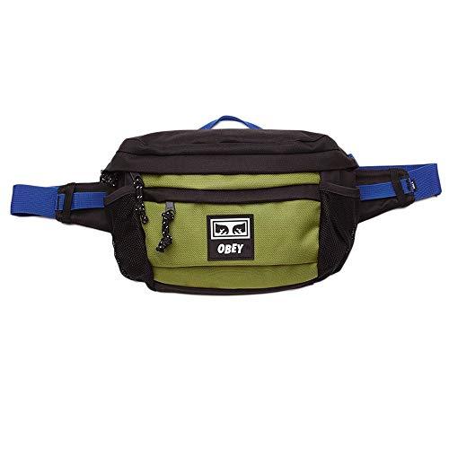 Obey Conditions Waist Bag III - Riñonera para hombre 100010134 BKM Black Multi