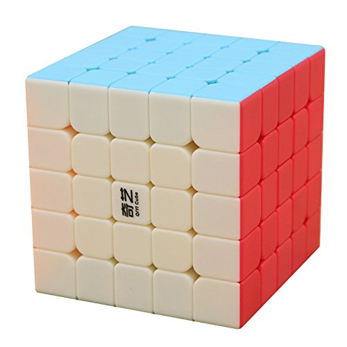 BestCube Qiyi 5x5 QiZheng S 5x5x5 Speed Cube Stickerless Puzzle Cube(Qizheng S Version)