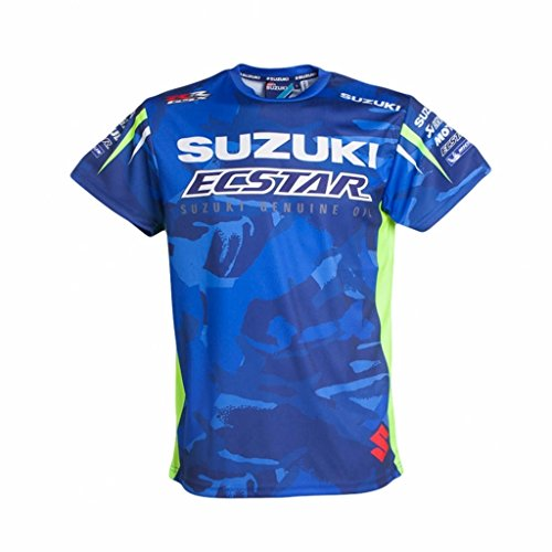Suzuki MotoGP Ecstar Official Team Performance T-Shirt Blue XX-Large