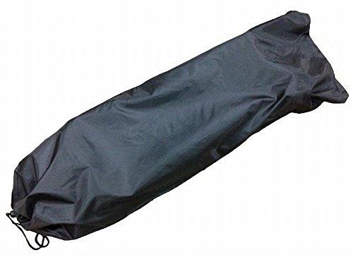 スケートボード入れ 袋 スケボー バッグ 肩紐つき 黒 無地