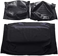 Golf Cart Yamaha G14-G22 Front Seat Covers - OEM Match - Black - Complete Set