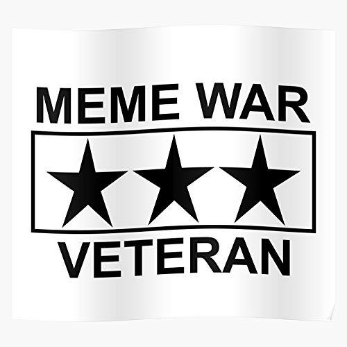 Trends Online Memes Meme War El póster de decoración de interiores más impresionante y elegante disponible en tendencia ahora