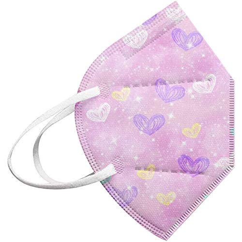 lbert 10/50/100 unidades para adultos, protección de 5 capas, protección para la boca y la nariz, transpirable, antipolvo, bandana, bandana, bandana, pañuelo para el cuello, para mujeres y hombres