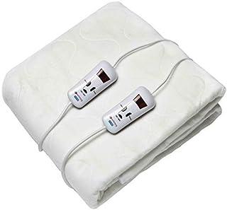 Pekatherm UP210DF - Verwarmde matrastopper 2 plaatsen, 150x160 cm | 100 % Polyester - 2x120 W - Therapeutisch - Gezondheid...