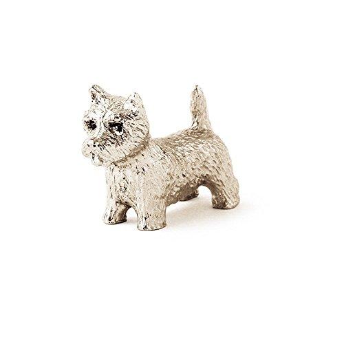 West Highland White Terrier Made in UK, Collezione Statuetta Artistici Stile Cani