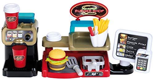 Theo Klein 7307 Burger Shop OWB, Multicolor