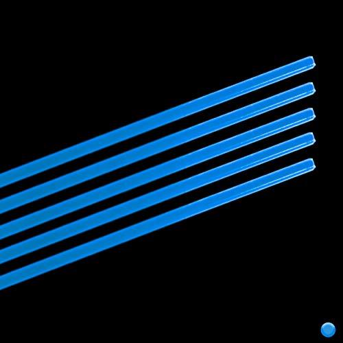 "TRUGLO Replacement Fibers for Firearm and Archery Fiber Optic Sights.010 Diameter (Blue), 9"""" Length, Multi (TG05)"