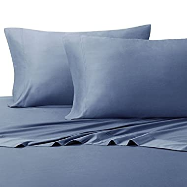 Royal Hotel Queen Periwinkle Silky Soft sheets 100% Viscose from Bamboo Sheet Set