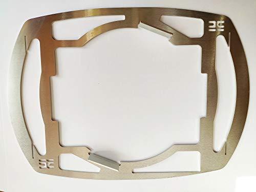 deingrillrost.de EE Hailixblechle 2.0 f. Weber GBS Q200 220 2000 4mm Dutch Oven Rost