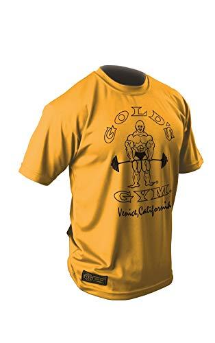 ゴールドジム(GOLD'S GYM) ゴールズドライシャツ(G2246オリジナル)YE/L イエロー L