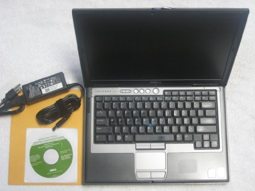 """Dell Latitude D620 14.1"""" Laptop with Dell Reinstallation XP Professional Disk (Intel Duo Core 1.66Ghz, 60GB Hard Drive, 1024Mb RAM, DVD/CDRW Drive, Wifi, XP Professional)"""