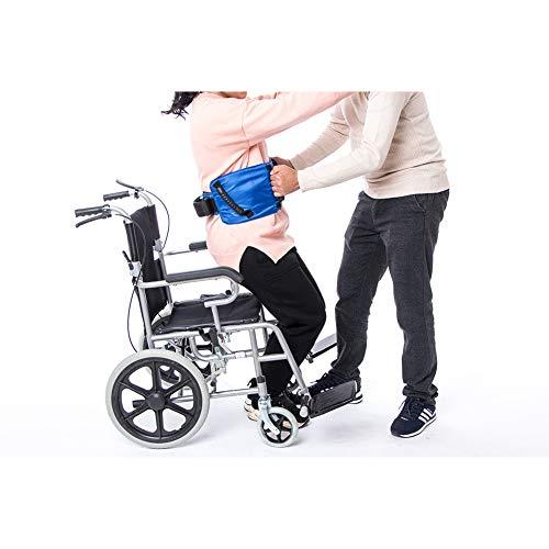 Cinturón de seguridad de transferencia con asas - Terapia Física y Enfermería Médica - Cinturón de seguridad para ancianos, traslado de pacientes, caminar, prevención de caídas CYYL109