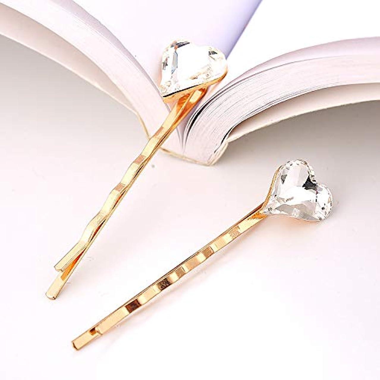 ミント水分光電HuaQingPiJu-JP ラブリーヘアピン便利なビンテージヘアクリップヘッドウェア(ホワイト)