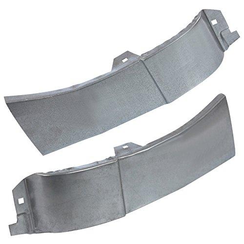 2x Kotflügel Reperaturblech Seitenblech Kotflügelblech Rep Blech vorne hinterer Teil links + rechts