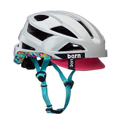 Bern Damen FL-1 Pavé Helm, weiß-bunt, M