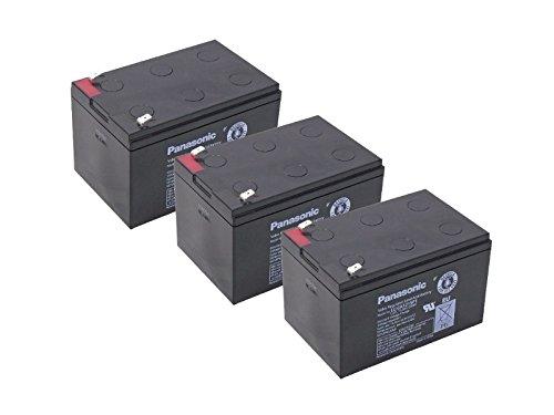 Compatibel Accu 36V 3x 12V 15Ah batterij Scooter elektrische scooter AGM lood accu