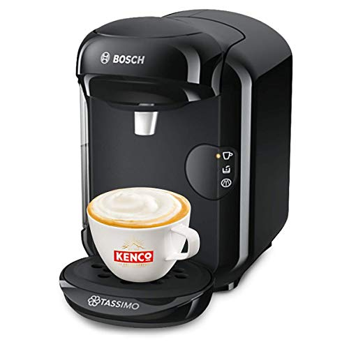 Tassimo Bosch Vivy 2 TAS1402GB Coffee Machine, 1300 W, 0.7 Litre - Black