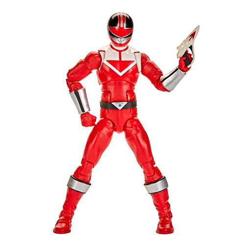 Power Rangers Lightning Collection Time Force Red Ranger 6 pollici Premium Collectible Action Figure giocattolo con accessori