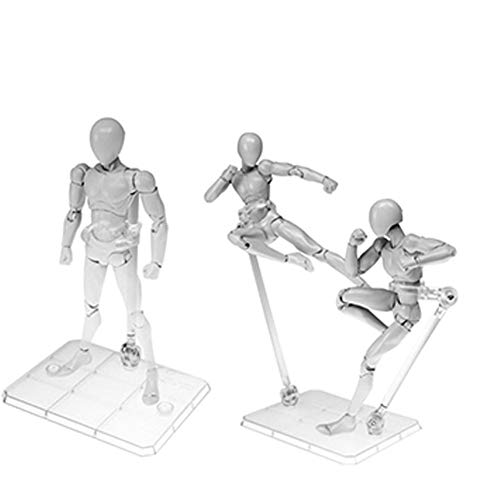 HG/RG Gundam Abbildung Modell Spielzeug, Action Base Clear Display Stand für 1/144 transparentrosa
