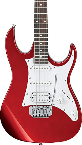 Ibanez 6 String Solid-Body Electric Guitar, Right, Candy Apple (GRX40ZCA)
