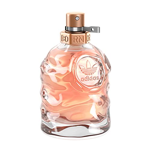 adidas Born Original Eau de Parfum – Fruchtig-blumiges Damen Parfüm mit explosivem Mix aus kontrastierenden Düften – 1 x 50 ml