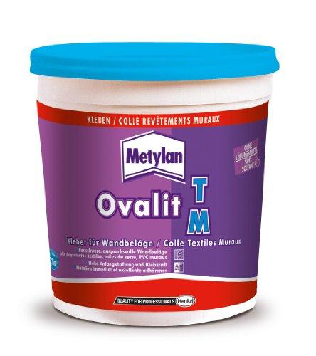 Metylan 44568 - Adesivo sintetico per tessuti murali e parati tessili, 750 g