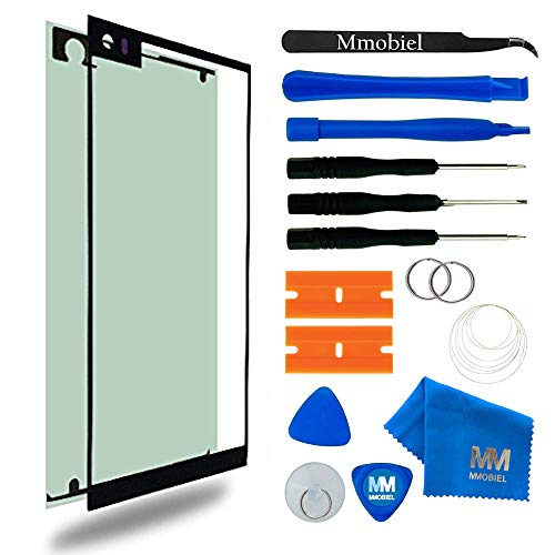 MMOBIEL Front Glass Replacement Compatible with LG V20 Series 5.7 Inch (Black) Display Touchscreen incl Tool Kit