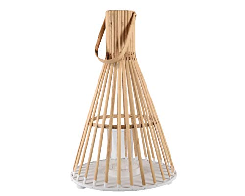 Kaemingk Lanterna in Bamboo con Manico