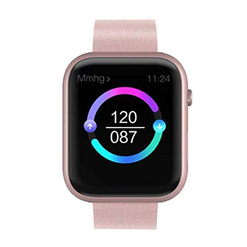 FAPROL Mens Smart Horloge Vrouwen Hartslagmeter Kleur Scherm IP67 Waterdichte Stap Counter Calorieën Verbrand Bluetooth