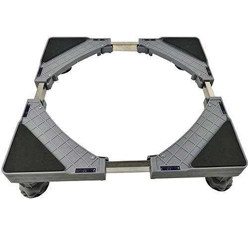 XWX Base De Lavage Machine avec 4 Forte Taille Pieds Réglables Base Multi-Fonctionnelle for Réfrigérateur Sèche-Linge