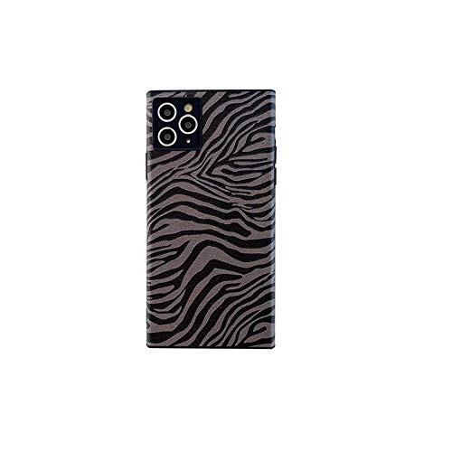 Phonecase Geometry Leopard - Carcasa para iPhone 11 12 Pro Max Mini XR XS Max 7 8 Plus (silicona), diseño de leopardo