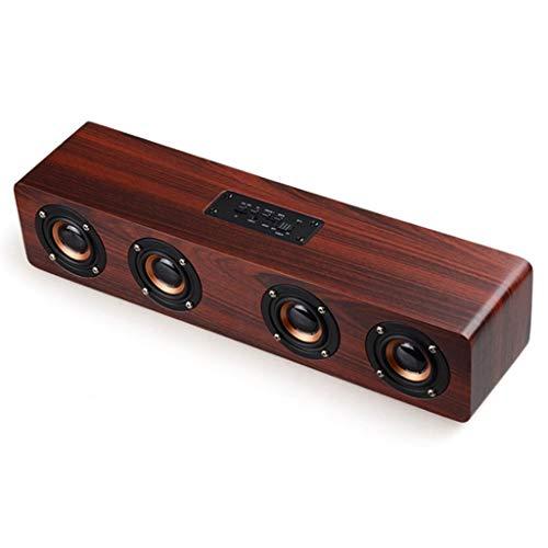 Zyj stores-Casse acustiche Altoparlante Wireless Bluetooth Volume Audio Home Soggiorno Camera da Letto Super Alta qualità Auto Altoparlante Esterno ad Alta Potenza Pesante (Color : B)