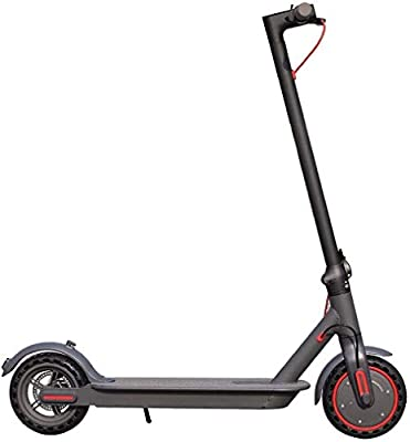 AOVO Electric Scooter 350W Max speed 25 km/h Load 260lbFor Adults/Teenagers, Motorised Mobility Scooter Portable Folding E-Scooter with Led Light and Display