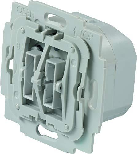 TechniSat Smart-Home Rollladenschalter-Einsatz mit Doppelwippe - (Unterputzdose, Z-Wave Plus, smarte Rolladensteuerung per App, kompatibel mit vielen Markenschaltern)