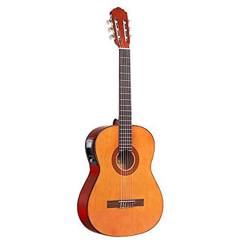 Boll-ATur 39 Zoll Klassische Gitarre Akustische Elektrische Cutaway Gitarre Neue Männer Und Frauen Anfänger Kit Professionelle Schwarze Gitarre, Extra Nylon Saiten