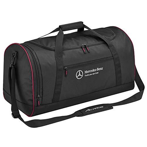 Mercedes-Benz Reisetasche schwarz/rot, Polyester