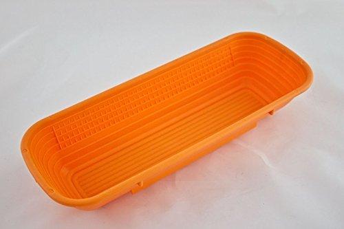 Brotformen Kunststoff lange Form in verschiedenen Größen, Inhalt/Durchmesser:1000 g 35x13 cm