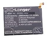 vhbw Litio polímero batería 3000mAh (3.85V)...