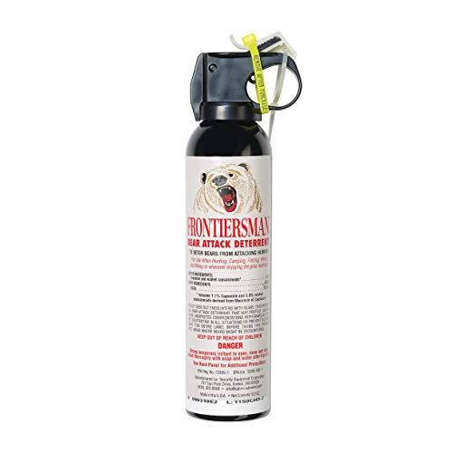 Frontiersman Bear Spray with Chest or Belt Holster– Easy...